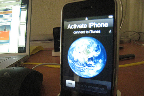 how to activate iphone on itunes 3g wi fi connect to itunes when activating a new 7737
