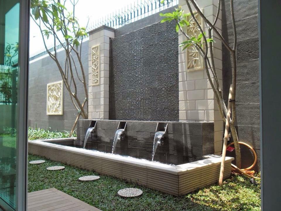 10 Cara Membuat Air Terjun Sederhana Tukang Taman Surabaya