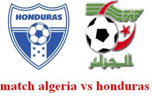 موعد توقيت مباراة الجزائر والهندوراس اليوم 4/8/2016 match algeria vs honduras