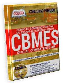 Apostila CBMES Oficial QOCBM - Oficial Combatente BM