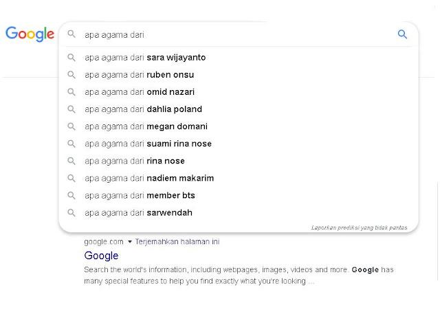 masyarakat Indonesia selalu bertanya apa agamamu - catatanadi.com