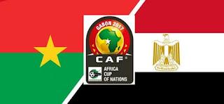 مشاهدة مباراة مصر وبوركينا فاسو بث مباشر 1-2-2017 كأس افريقيا