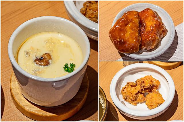 collage11 - 一笈壽司,輕井澤集團旗下品牌,在超美清水模建築內不用250元就能享用壽司超值套餐!