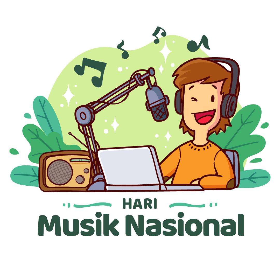 Gambar Ucapan Hari Musik Nasional 09