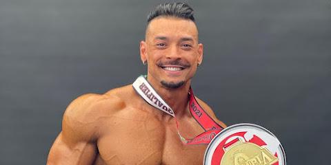 Felipe Franco é campeão Men's Physique no Mr. Big Evolution Pro 2021