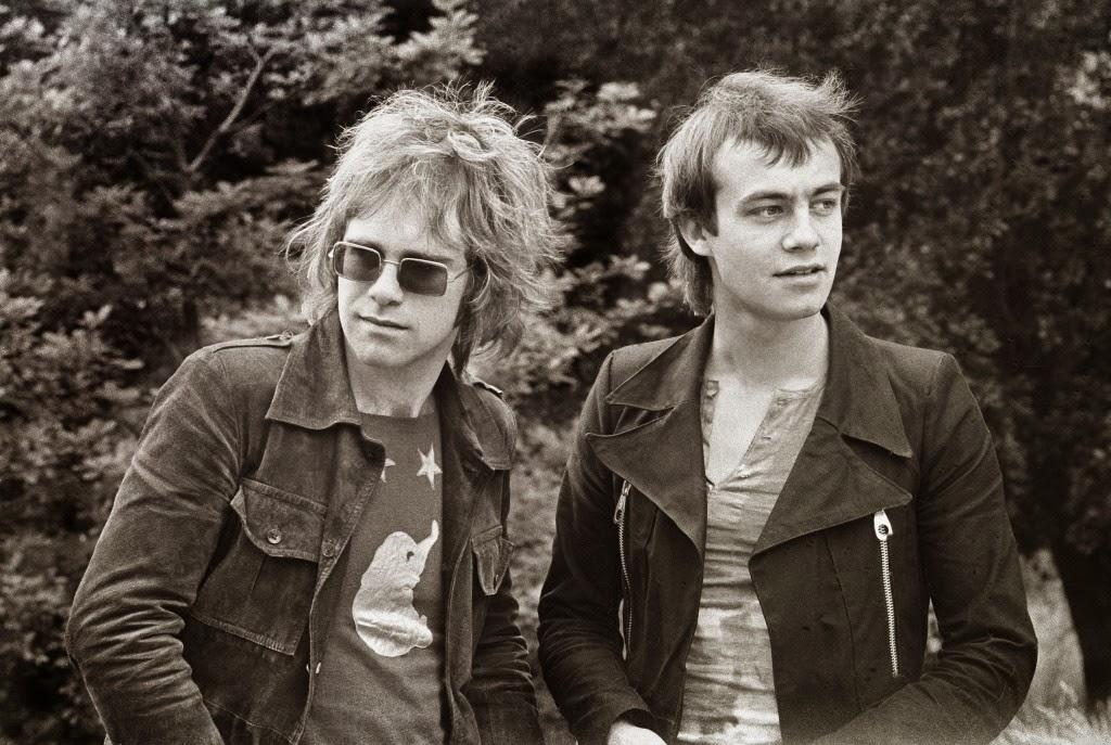Elton John & Bernie Taupin 1970