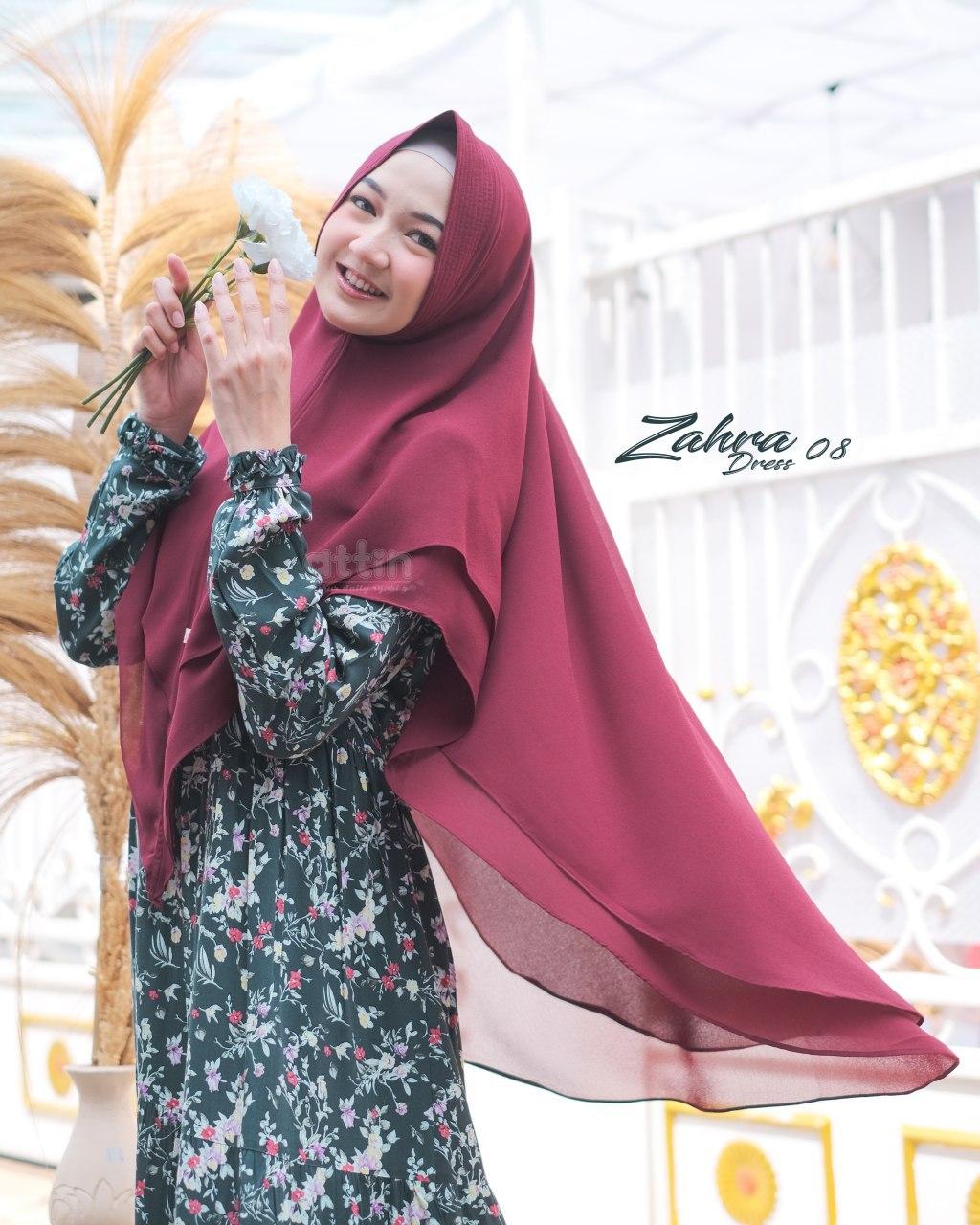 Busana Gamis Original Zahra Dress by Attin
