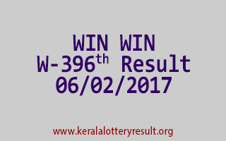 WIN WIN W 396 Lottery Results 06-02-2017
