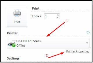 menambahkan kertas f4 pada epson l120