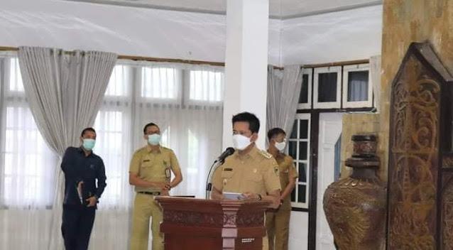 Bupati Nadalsyah Buka Rapat Kerja Lingkup Pemerintah Kabupaten Barito Utara