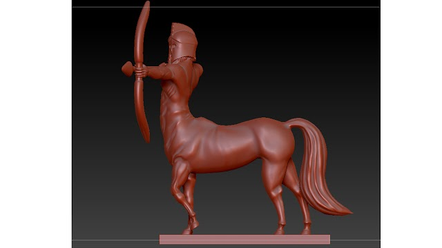 centaur 3d model free download
