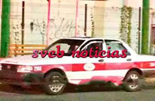 Matan a taxista dentro de su unidad en Minatitlan Veracruz