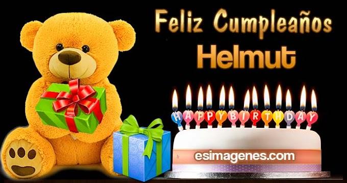 Feliz cumpleaños Helmut