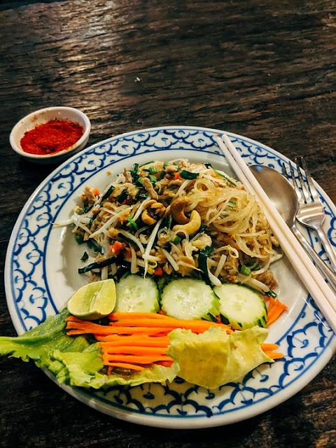 healthy vegan thai food