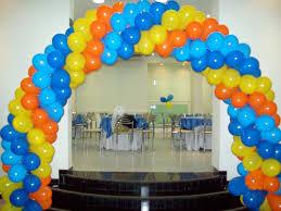 decoração feita com balões