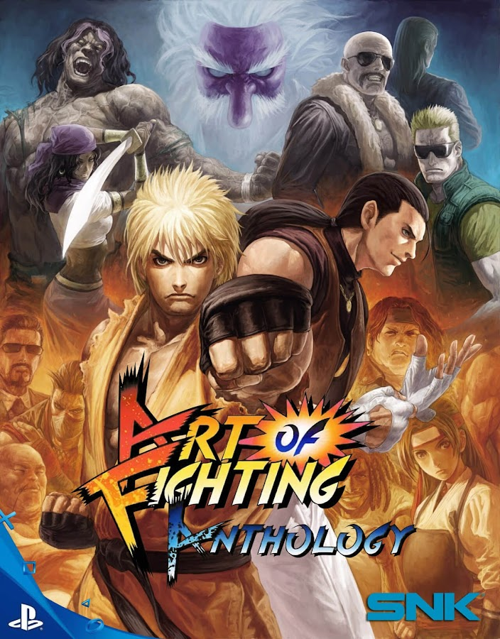 art of fighting anthology playstation 4
