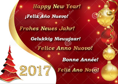 Dutch 2017 New Year Greetings
