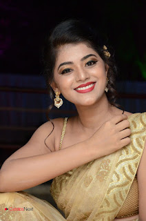 Actress Yamini Bhasker Pictures in Saree at anic Movie Audio Launch  0088.JPG