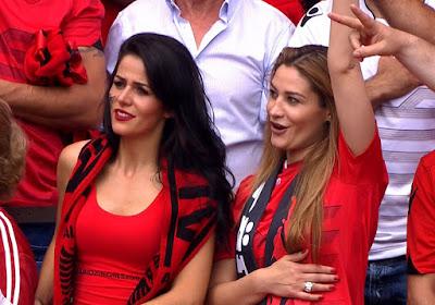 Supporter cewek cantik Albania EURO '16