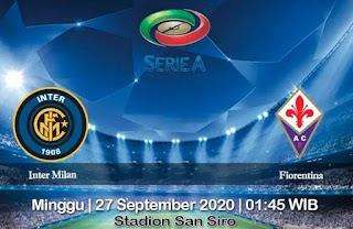 Prediksi Inter Milan vs Fiorentina 27 September 2020