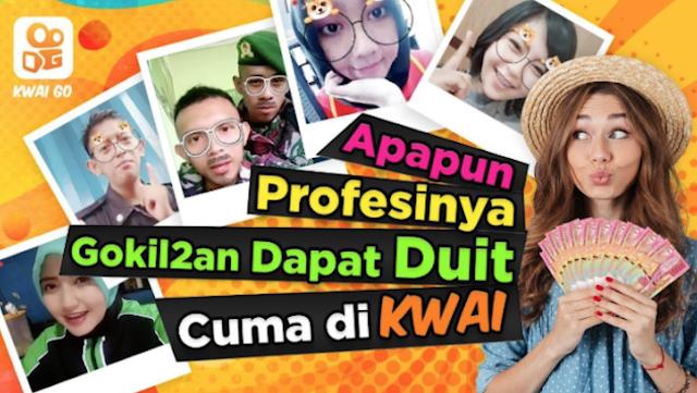 Cara Download / Simpan Video Di Kwai Go Tanpa Aplikasi