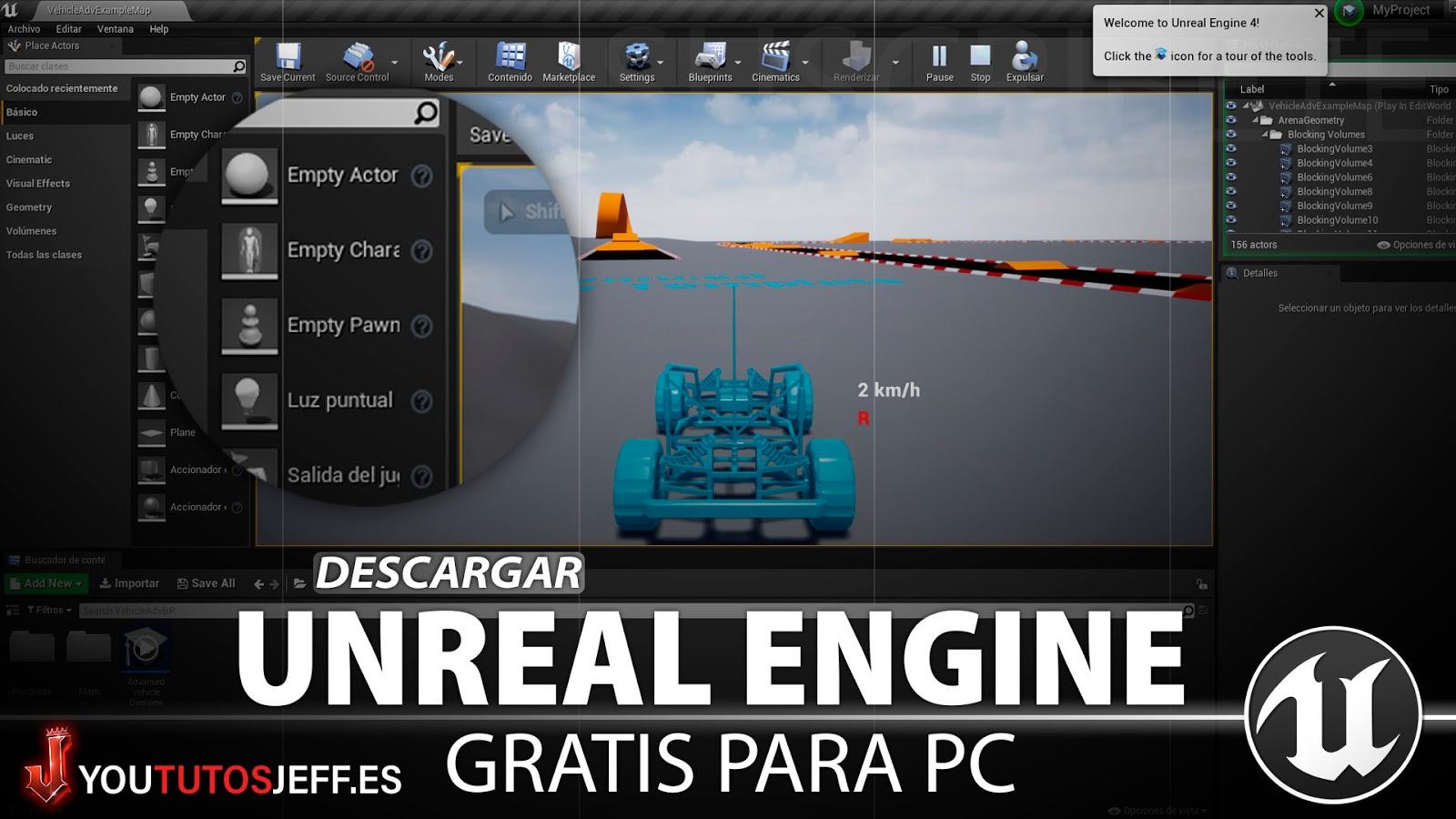 Como Descargar Unreal Engine 4 Gratis para PC