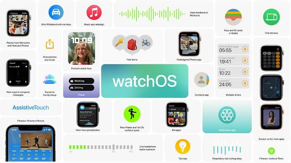 watchOS 8 新機能