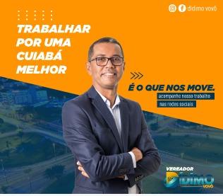 Vereador Didimo Rodrigues Vovó