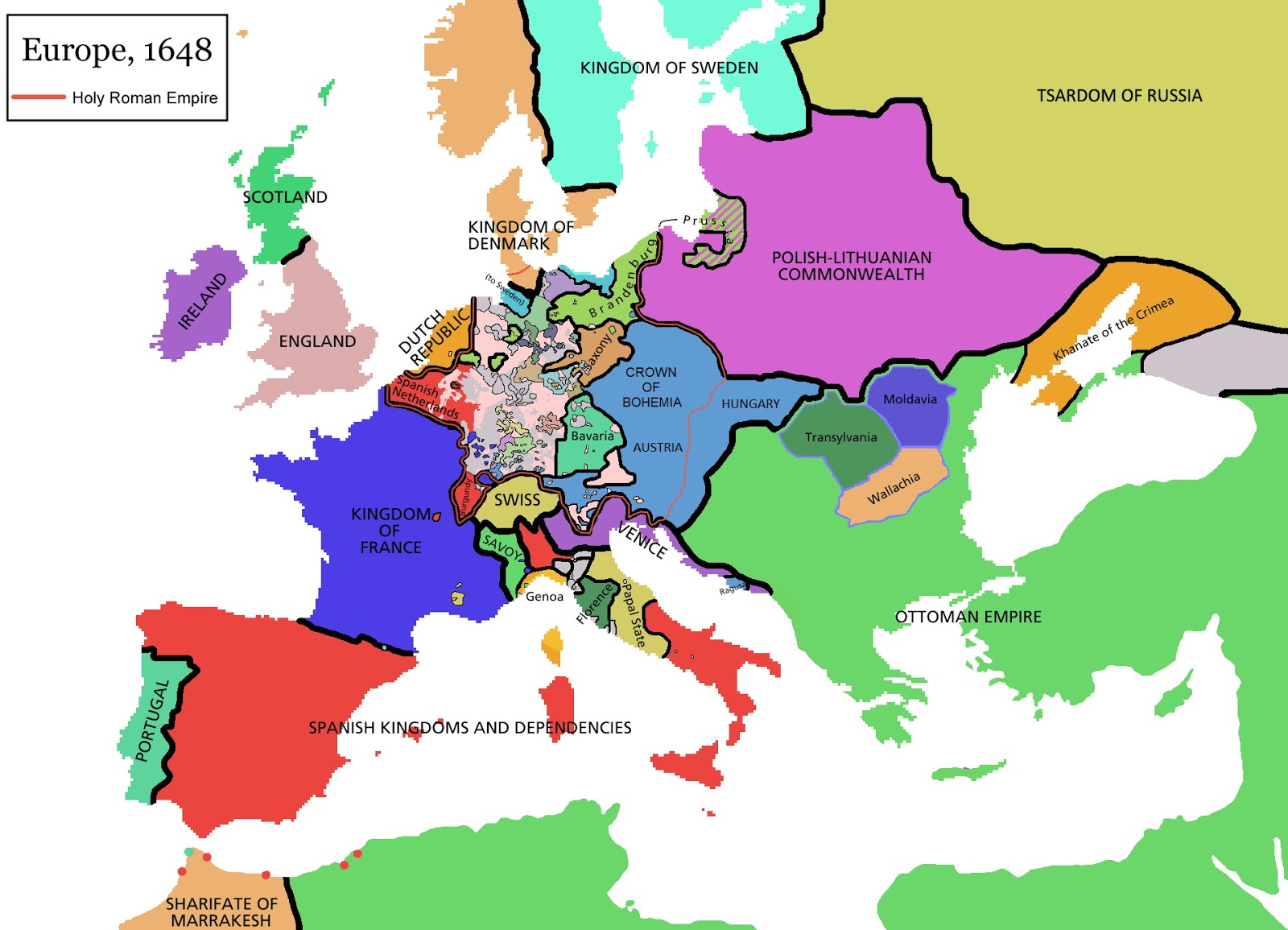 Europe (1648)