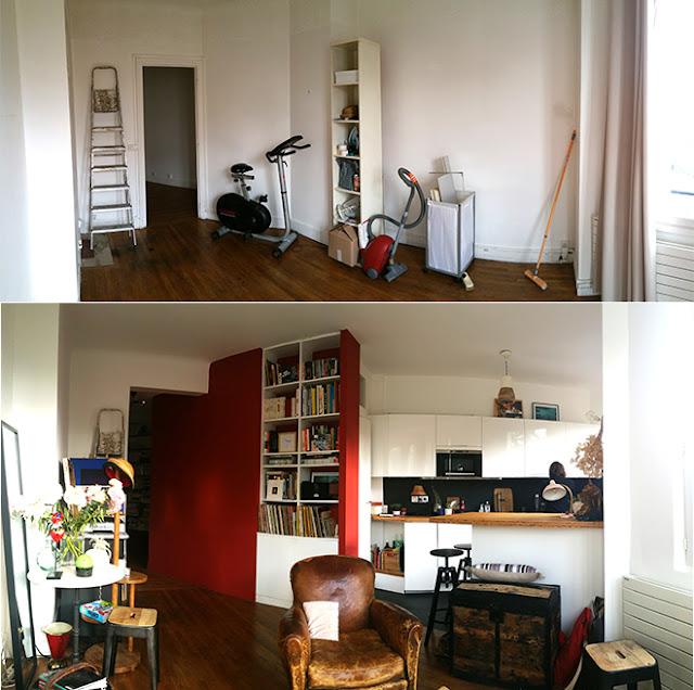 Rénovation intérieure appartement parisien