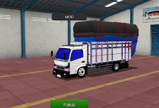 MOD bussid Truck Canter Gayor.