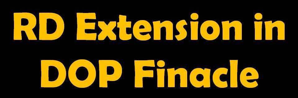 Rd Extend Extension Command In Finacle Dop Core Solutions