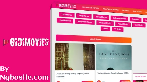 GidiMovies Blogger Template Free Download