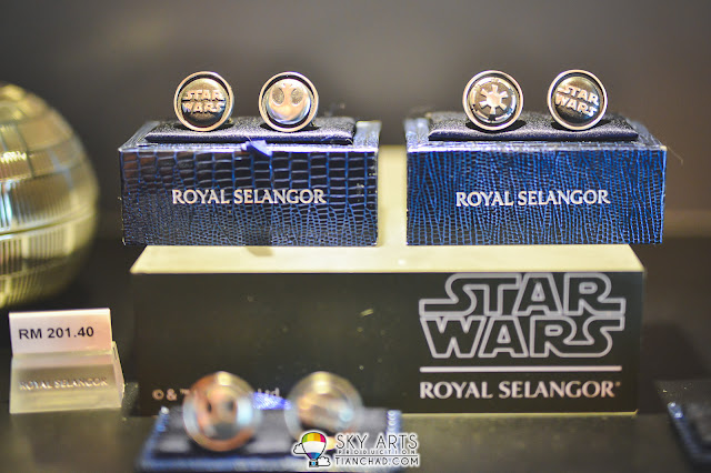Galactic Empire and Rebel Alliance Cufflinks (MYR 201.40)