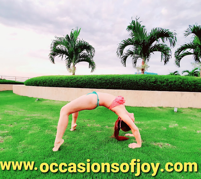 back bend, yoga, www.occasionsofjoy.com