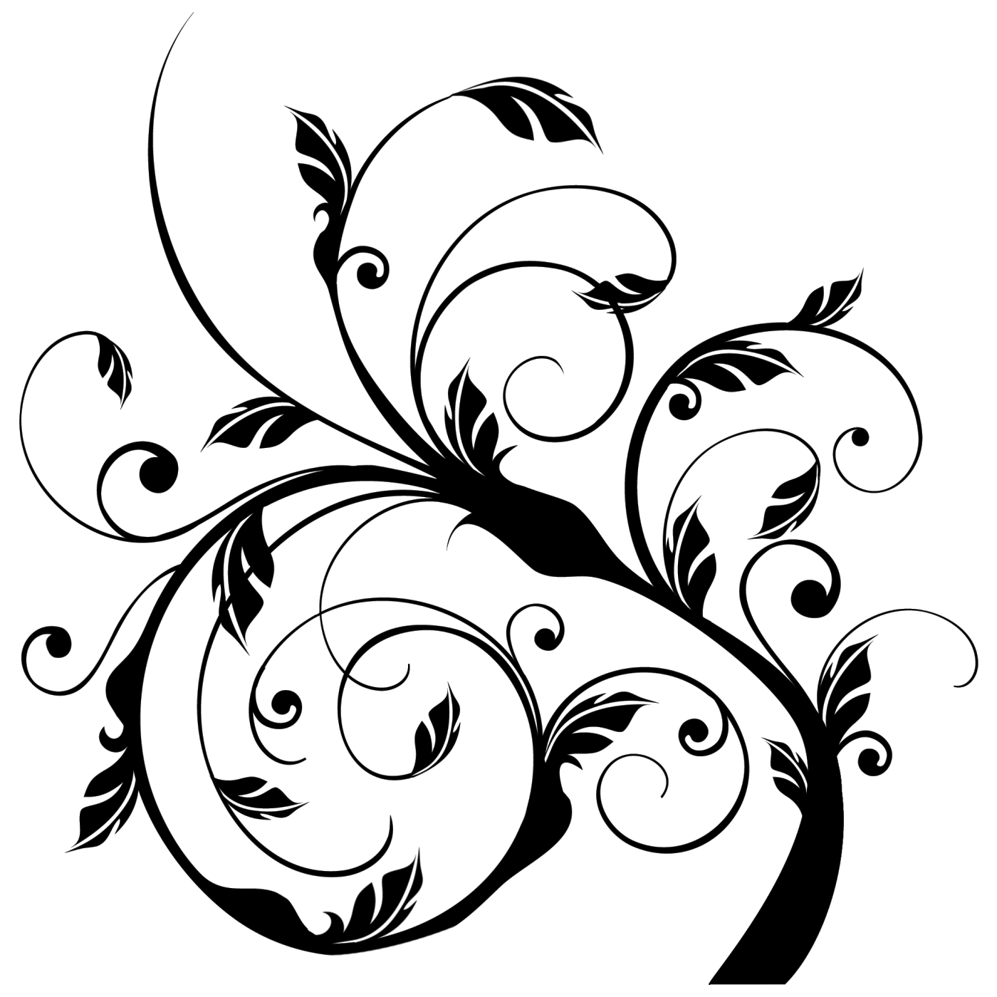 Gambar Bunga Floral Pattern Transparent Fauzi Blog