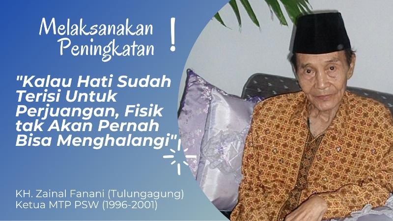 KH. Zaenal Fanani ; Perjuangan Dalam Wahidiyah