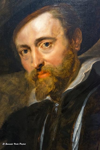 Rubens, autorretrato. Casa Rubens - Amberes, por El Guisante Verde Project