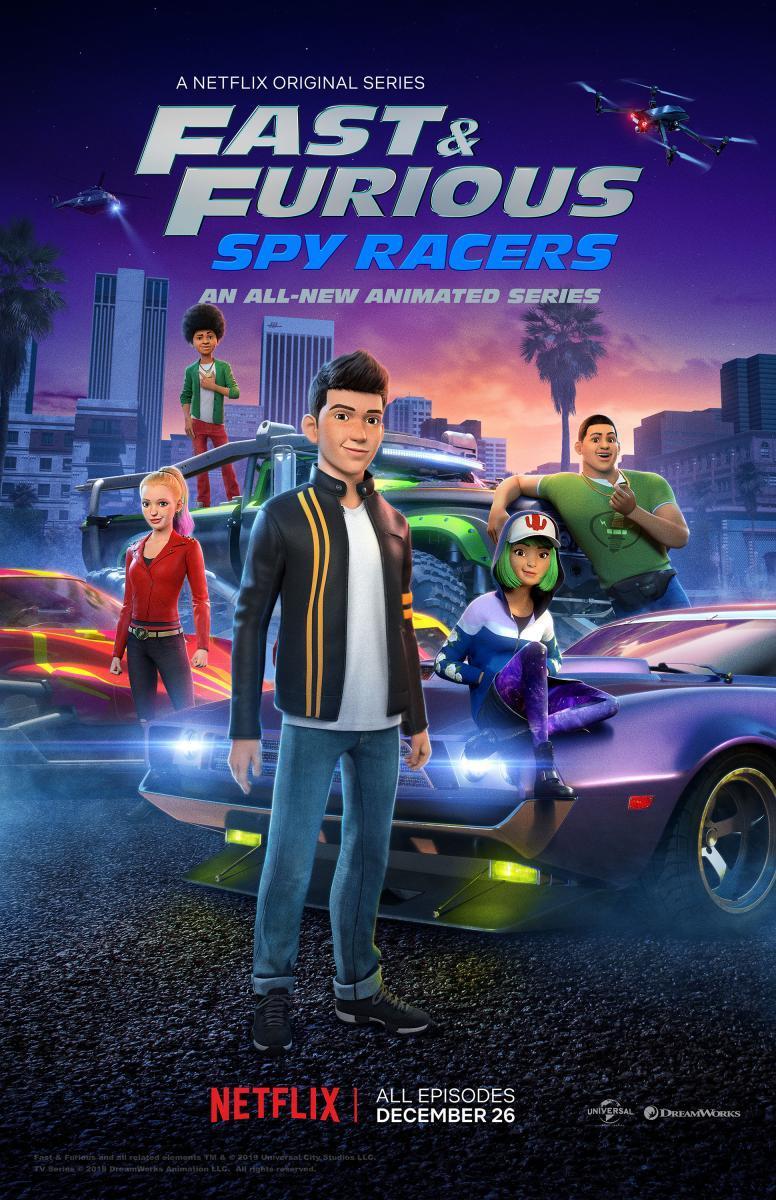 Rápidos y furiosos: Espías al volante Temporada 1 2 y 3 Dual Latino/Ingles 720p