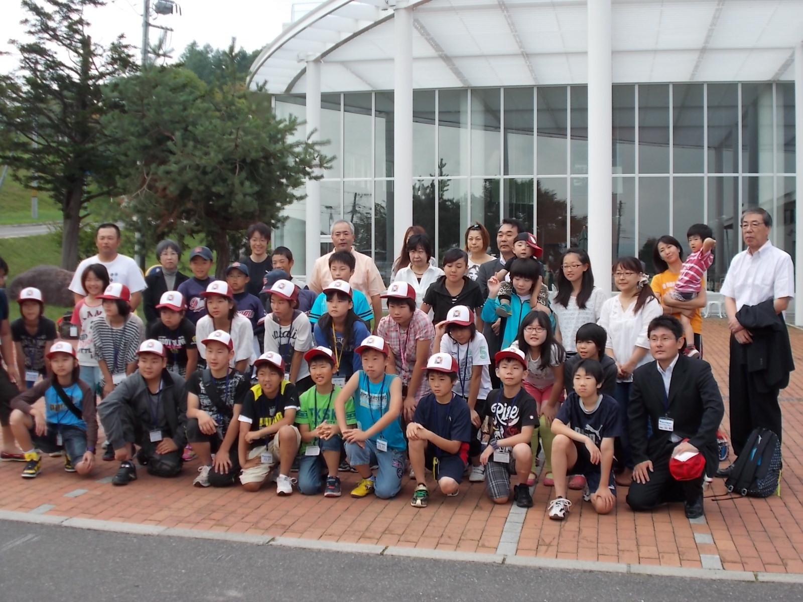 今朝までの三日間、福島県相馬市から小学生の使節団が来町してました。 ホ... 大津小学校公式ブロ
