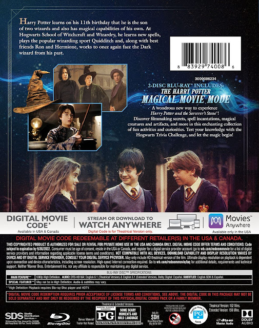 'Harry Potter e a Pedra Filosofal' será relançado em versão remasterizada com Magical Movie Mode | Ordem da Fênix Brasileira
