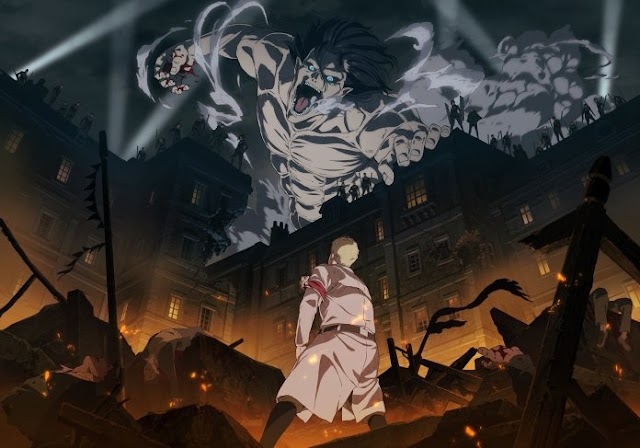 MAPPA Memproduksi Anime Final 'Shingeki no Kyojin', Umumkan Staff dan Trailer Perdana !
