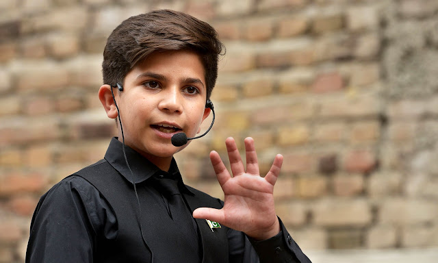 Meet The Youngest Motivational Speaker- Hammad Safi