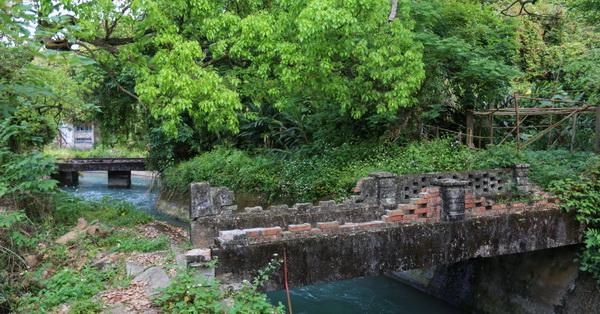 台中后里 后里泰安秘境 百年歷史建物 后里圳磚橋 八號隧道 縱貫鐵路舊山線