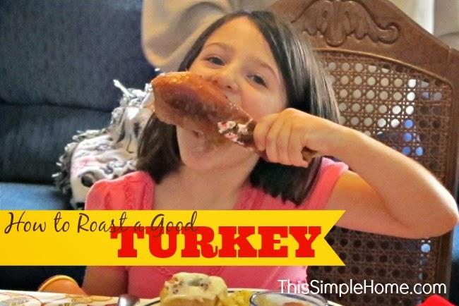 How to roast a good turkey, with advice from a former turkey farmer.