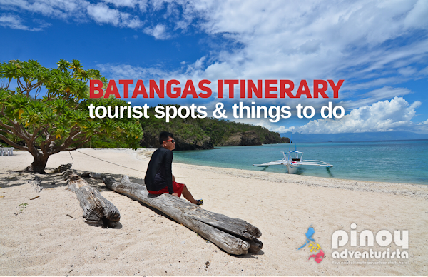 BATANGAS ITINERARY TOURIST SPOTS, Things to Do & Places to Visit Itinerary