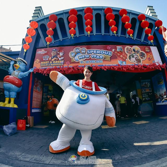 大大哒 ThinkBigBig 电影拍摄地点 一日游 Sunway Lagoon Theme Park