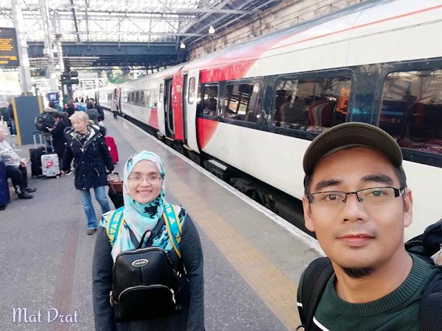 Virgin Train London Edinburgh Scotland
