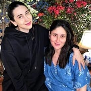 karisma kapoor with her sister