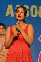 Telugu Actress Nivetha Pethuraj in Red Dress Pictures at Paagal Movie Pre Release Event in Hyderabad HeyAndhra.com